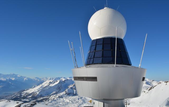 Pointe de la Plaine Morte weather radar (radar) by Lorenzo Clementi